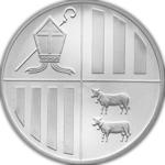Silbermünze Andorra Eagle Rückseite