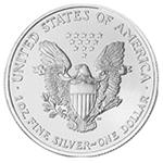 Silbermünze American Silver Eagle Rückseite