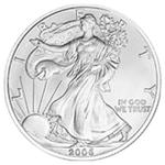 Silbermünze American Silver Eagle Vorderseite