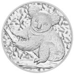 Silbermünze Koala Vorderseite