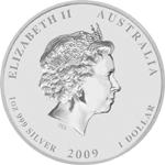 Silbermünze Silber Lunar Rückseite